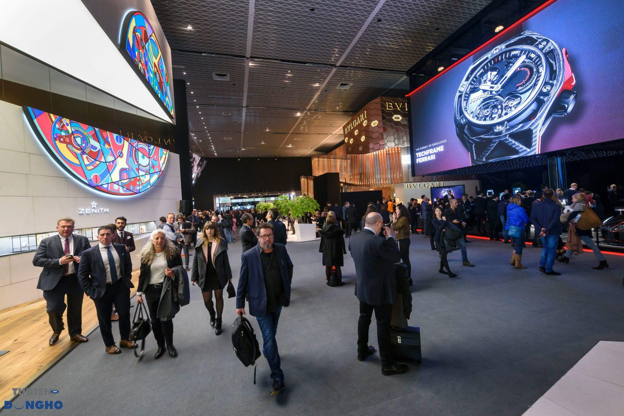 Hình ảnh trước thềm Baselworld 2019