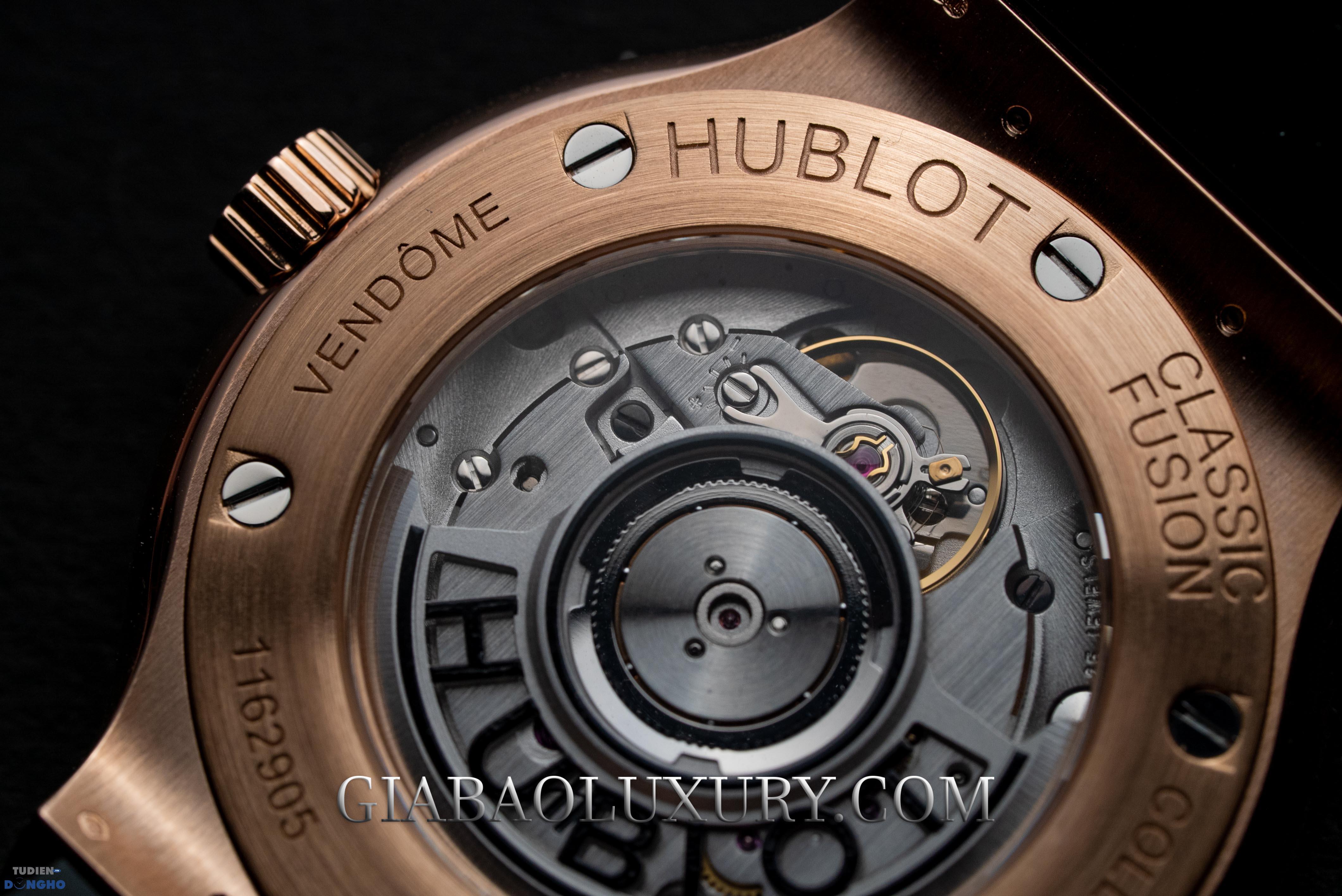 Hublot Classic Fusion Grey Gold