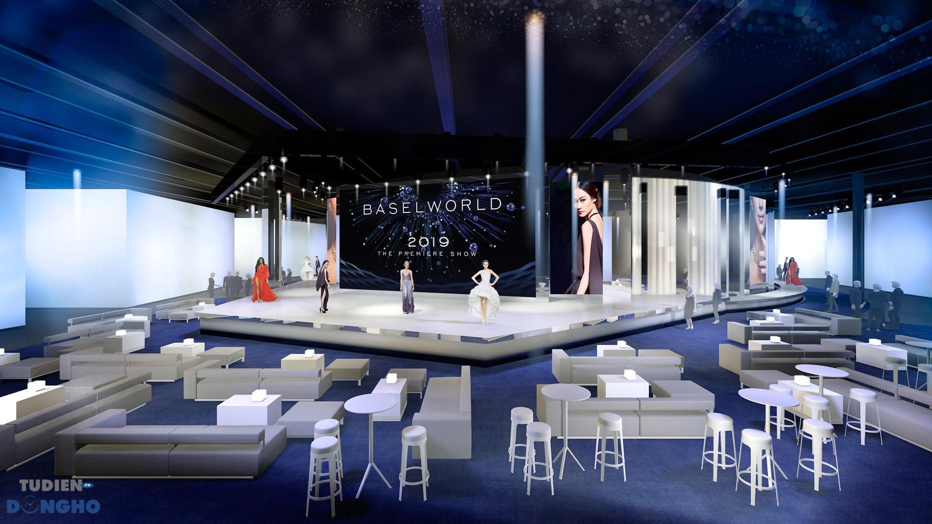 Không gian hội thảo Baselworld 2019