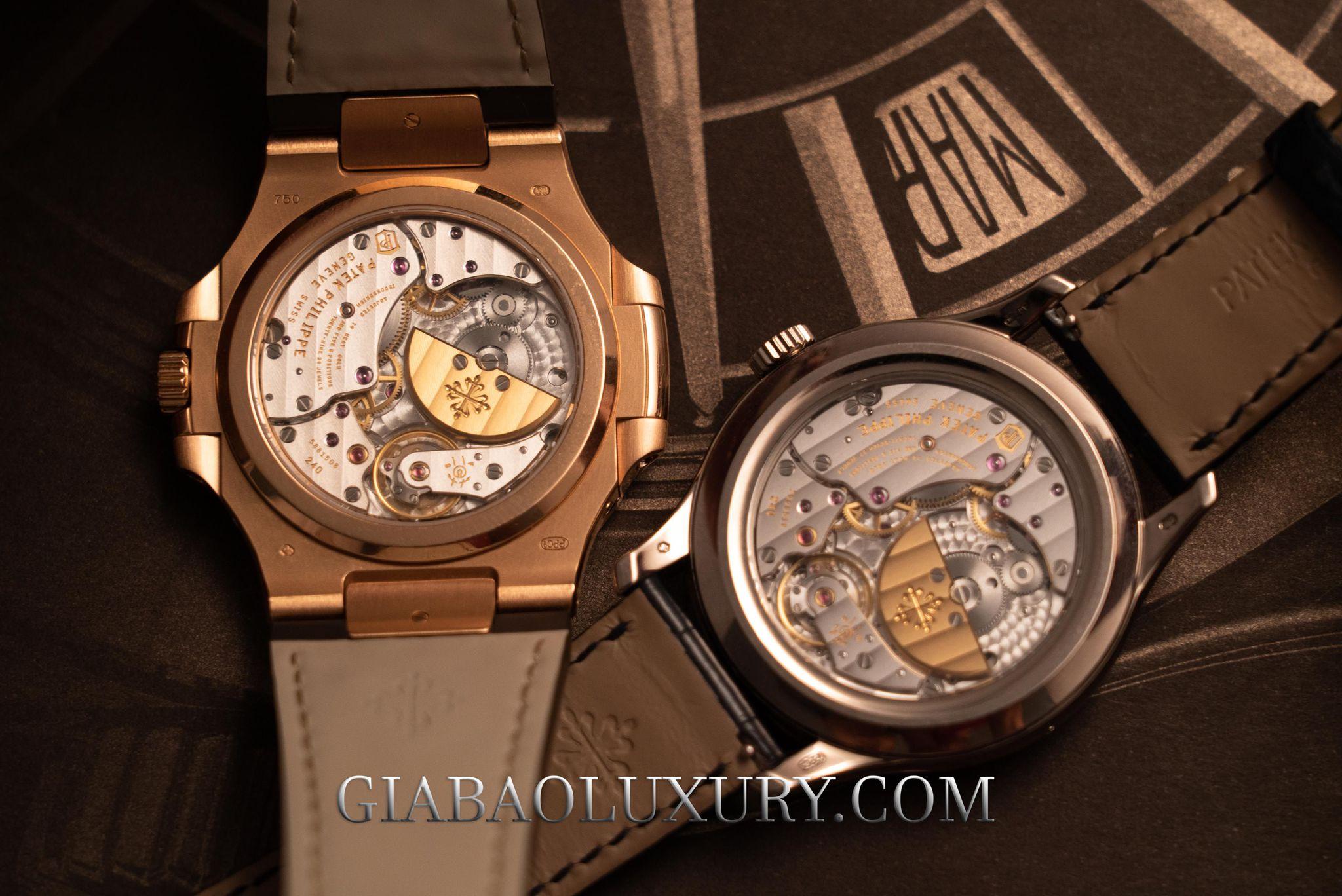 Mặt đấy đồng hồ Patek Philippe