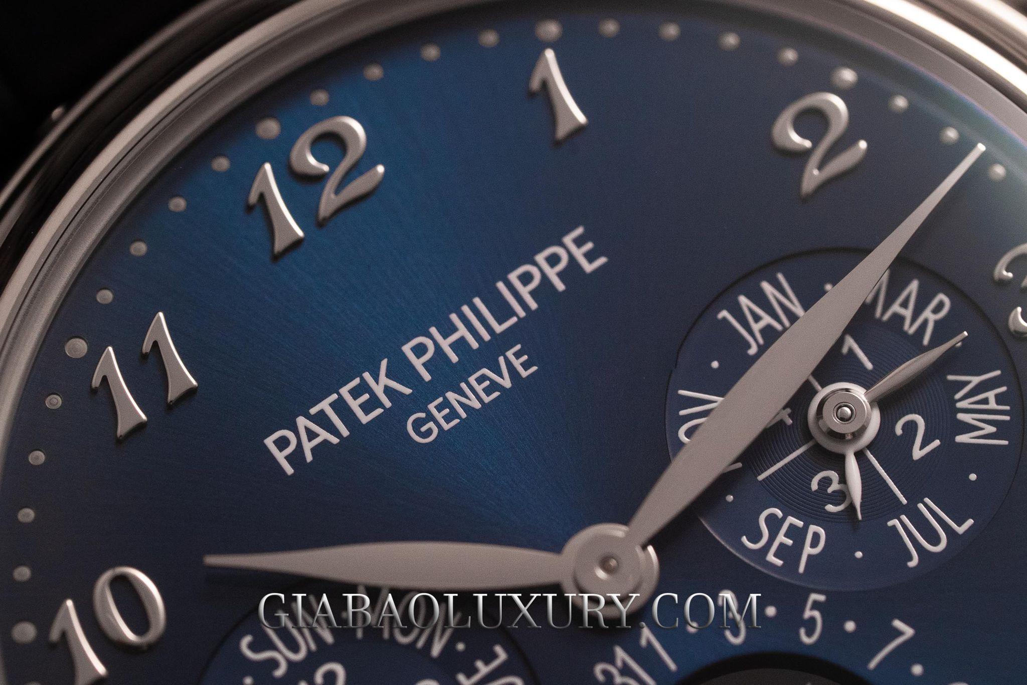 Mặt số đồng hồ Patek Philippe 5327G