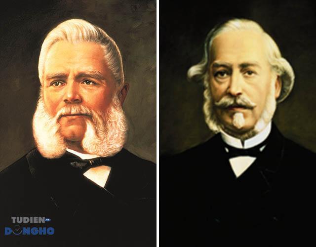 Antione Norbert de Patek và Adrien Philippe