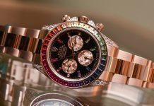 Đồng hồ Rolex Daytona Rainbow Everose Gold 116595RBOW 2018