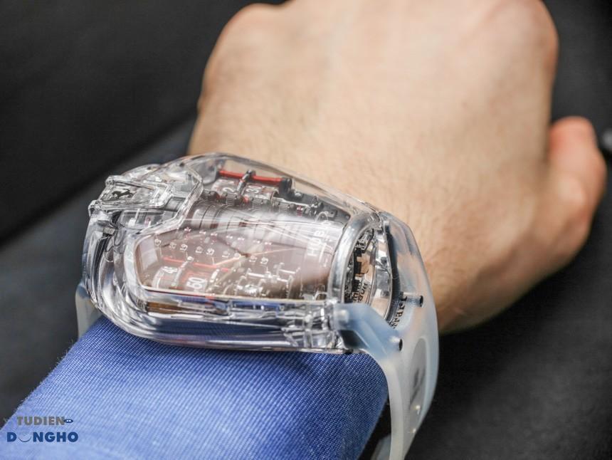 Hublot-MP-05-La-Ferrari-Sapphire-MP-05 LaFerrari Sapphire-6 chiếc đồng hồ siêu to siêu khổng lồ