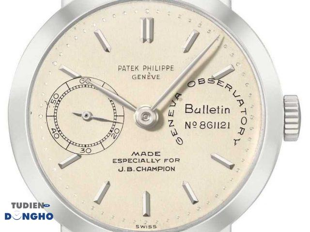 Reference 2458 Observatory Chronometer for J.B. Champion — $3.99 million