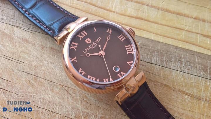 Hình ảnh thực tế của đồng hồ Lancaster