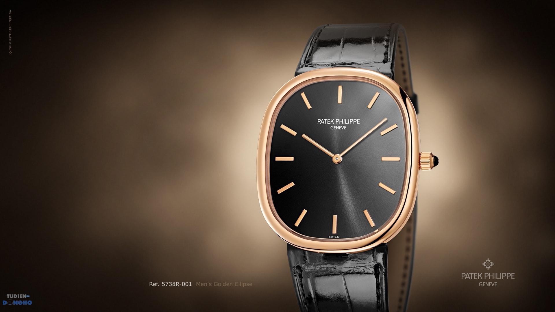 Đồng hồ Patek Philippe Golden Ellipse 5738R-001 phiên bản kỷ niệm 50 năm