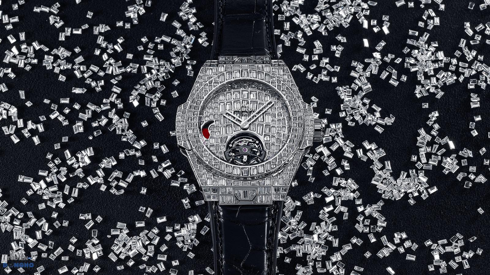 Đồng hồ Big Bang Tourbiliion Croco High Jewellery