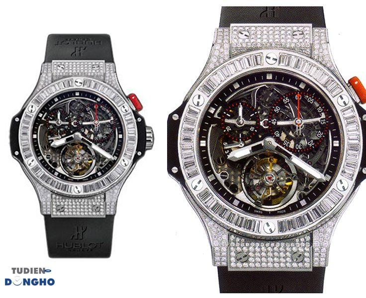 Đồng hồHublot Bigger Bang Diamond Tourbillon Limited Edition  - Giá 290.000 USD