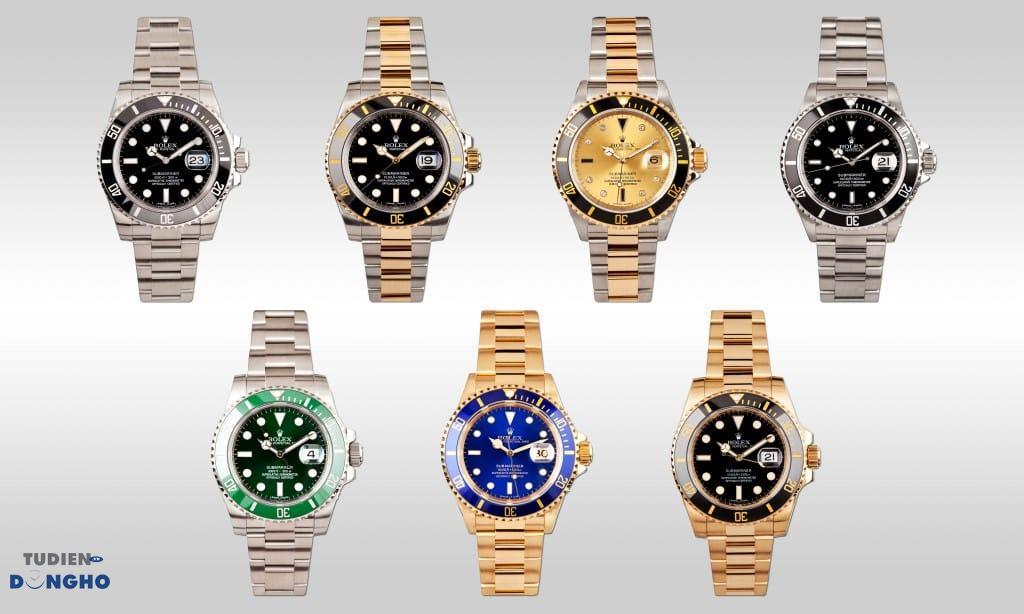 các mẫu đồng hồ Rolex