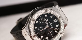 Big Bang Shiny 341.SX.1270.VR.1104 Stainless Steel Watch