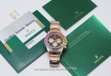 Rolex Daytona Rainbow Everose Gold 116595RBOW
