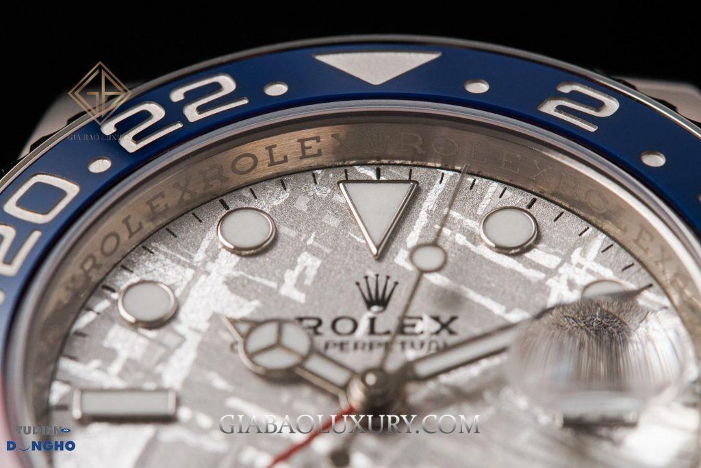 Bán đồng hồ Rolex GMT-Master II 126719BLRO Mặt Số Thiên Thạch