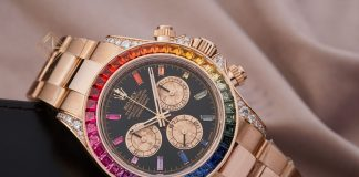 Rolex Cosmograph 116595RBOW Rainbow