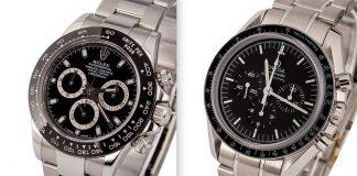 So sánh Rolex Daytona với Omega Speedmaster
