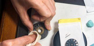Phục hồi cỗ máy đồng hồ 43 tuổi – Tudor Prince Oysterdate Rolex Case
