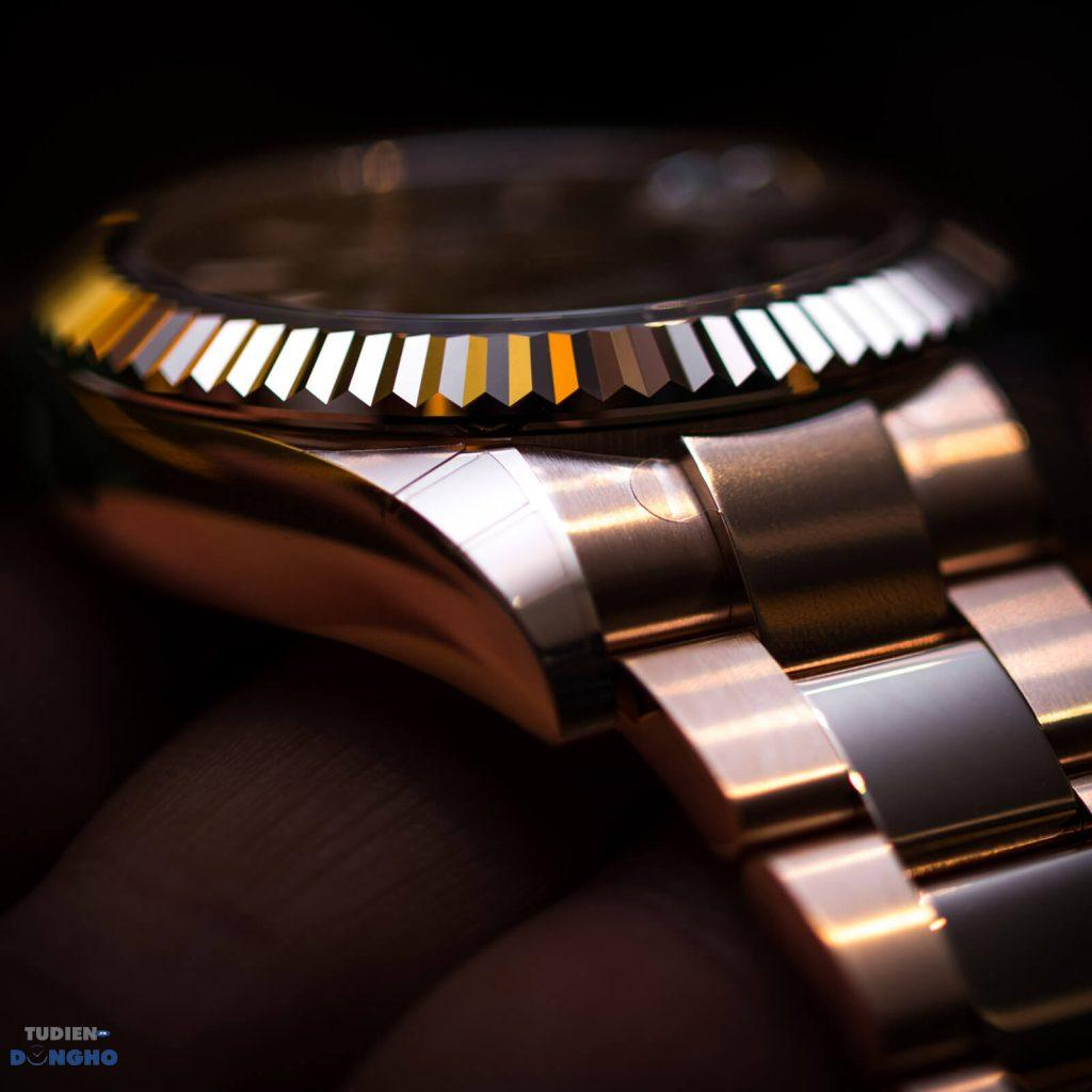 Đồng hồ Rolex SkyDweller Rhodium Everose