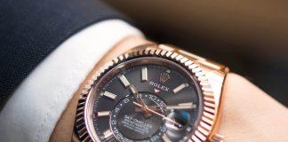 Đồng hồ Rolex-SkyDweller-Rhodium-Everose