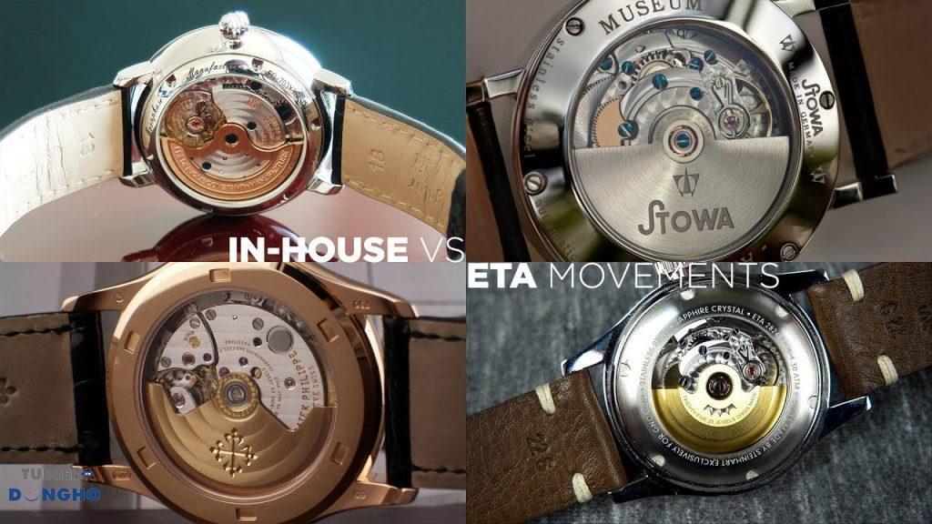 Những công ty đồng hồ nào có tự sản xuất bộ máy riêng